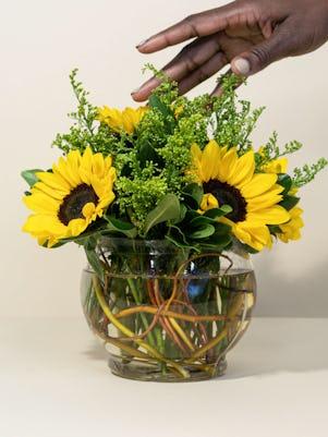 4 Sweet n Simple Sunflowers