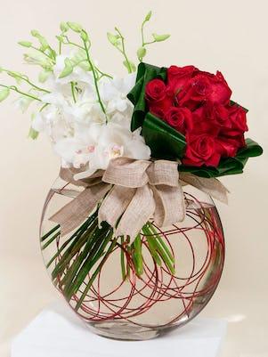 An Orchid & Rose Affair